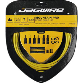 Jagwire Mountain Pro Brake Cable Kit, yellow